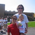 Dani, Greg, & Brody at Walk4Friendship