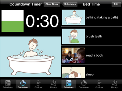 Seven scheduling behavioral apps for children with for Plan book app