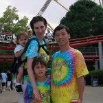 Visiting Cedar Point with my family