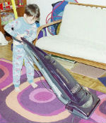 Vacuuming Chores for children with special needs