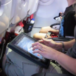 ipad airplane communication