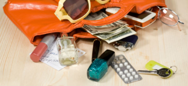 A peek inside a Special Needs Mom's Purse