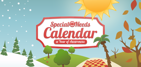 Special Needs Awareness Calendar