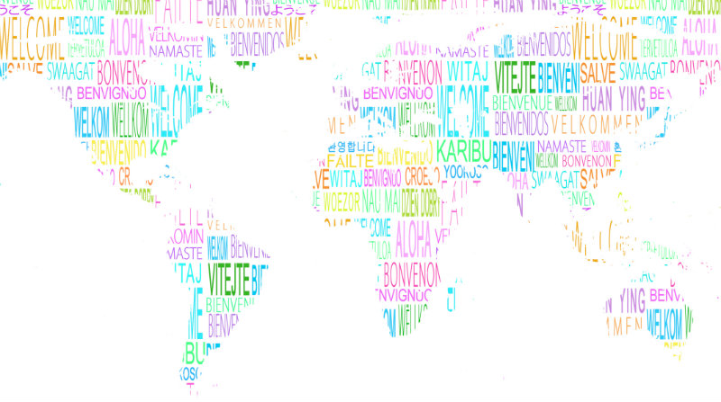 Why Foreign Language Study Is A Great Idea For Students With - World languages map