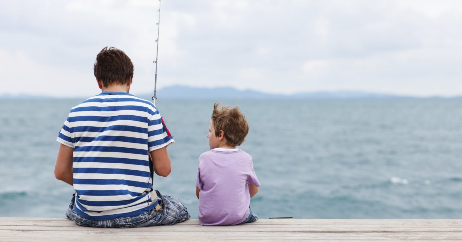5 ways a father can maximize time with their child with for Father son fishing