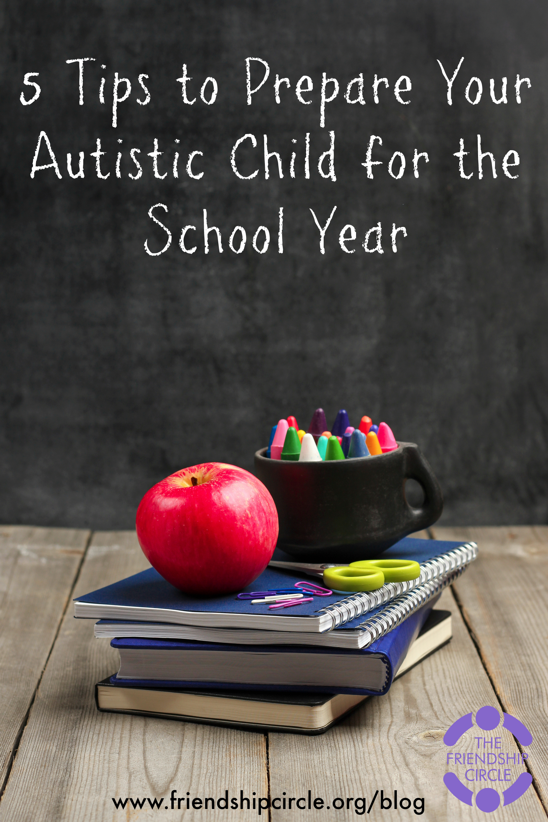 5 Tips to Prepare Your Autistic Child for the School Year