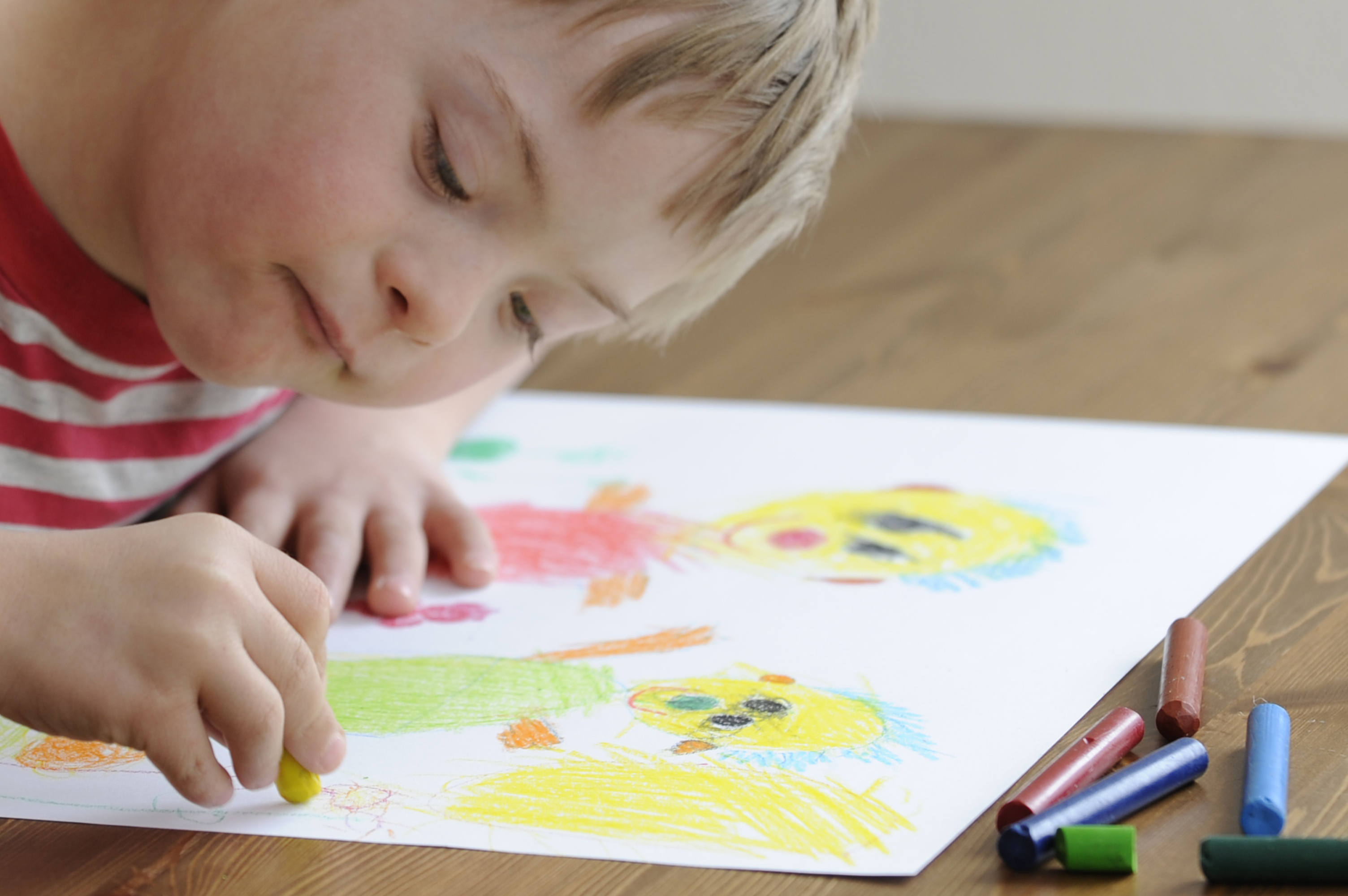 Coloring pages for down syndrome adults - Seven Year Old Boy With Down Syndrome Is Drawing More Photo S Of This Boy