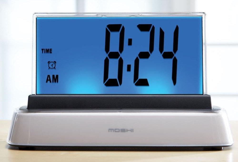Alarm Clocks: Moshi Voice Interactive Talking Alarm Clock