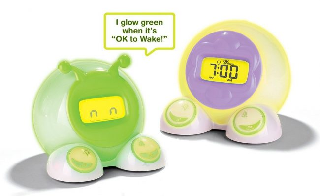 Alarm Clocks: OK to Wake! Alarm Clock & Night-Light from Patch Products