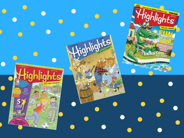 Using Highlights Magazine as a Therapy Activity for AAC Users