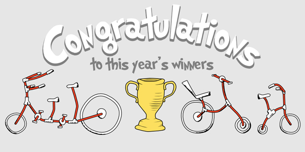 Great Bike Giveaway Winners