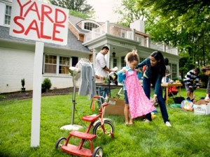 yard sale photo