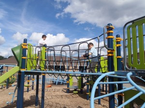 Play on the playground
