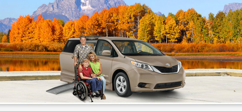 wheelchair accessible van