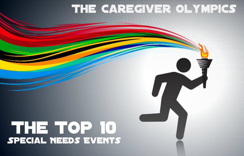 Caregiver special needs olympics