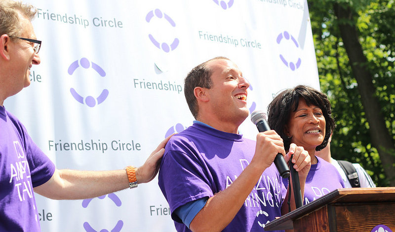 Richard Bernstein at Walk4Friendship