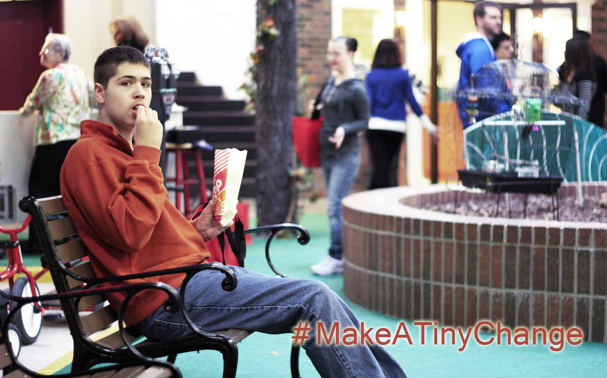 #MakeATinyChange for Disability Acceptance