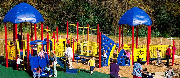 Play and Park Accessible Playground