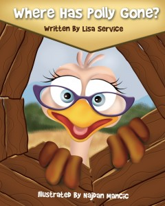 Where Has Polly Gone? by Lisa Service – Children's Book Promoting Math and ADHD Awareness
