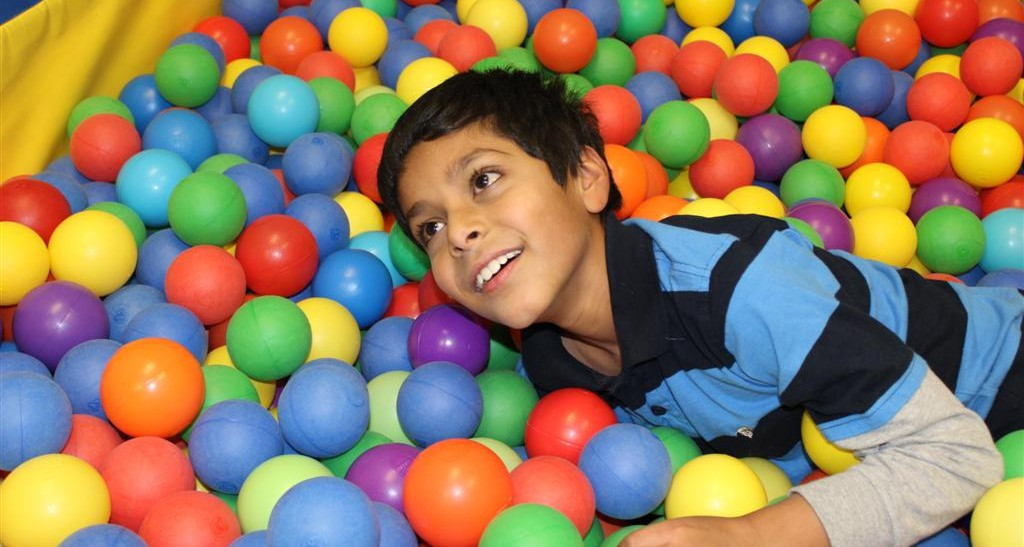 1-45 child post ball pit