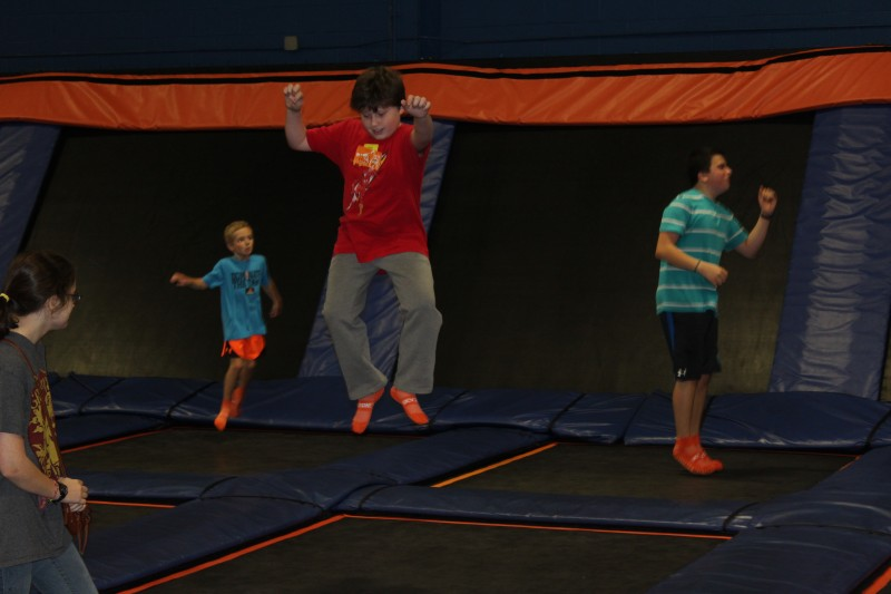 winter camp: sky zone trampoline park