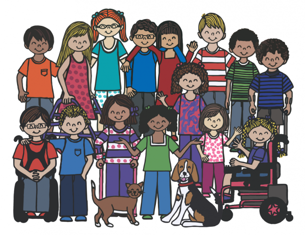 Free Inclusive Coloring Pages For Kids With Special Needs! : Friendship  Circle — Special Needs Blog