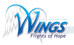 Logo for Wings Flights of Hope