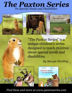The Paxton Series: On Special Needs and Disabilities -By Margie Harding and illustrated by Jennifer Phipps