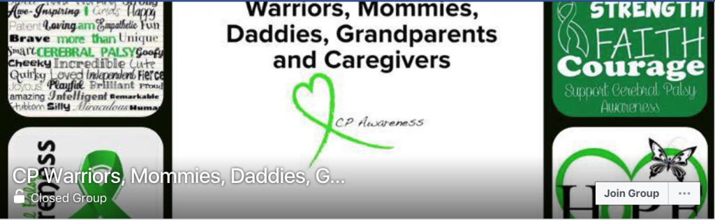 Social Media Resources on Cerebral Palsy: CP Warriors